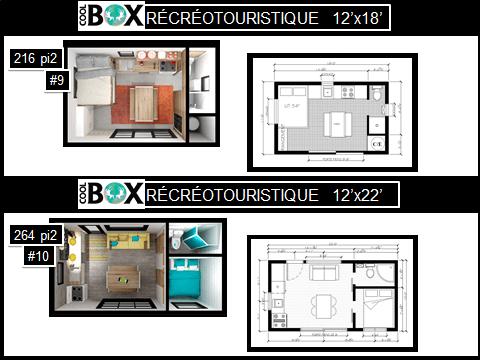 Plan de Coolbox récréatives