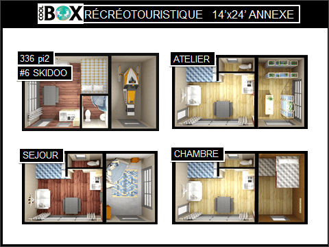 plan coolbox recreative