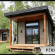 Mini maison chalet Prospère - Péribonka