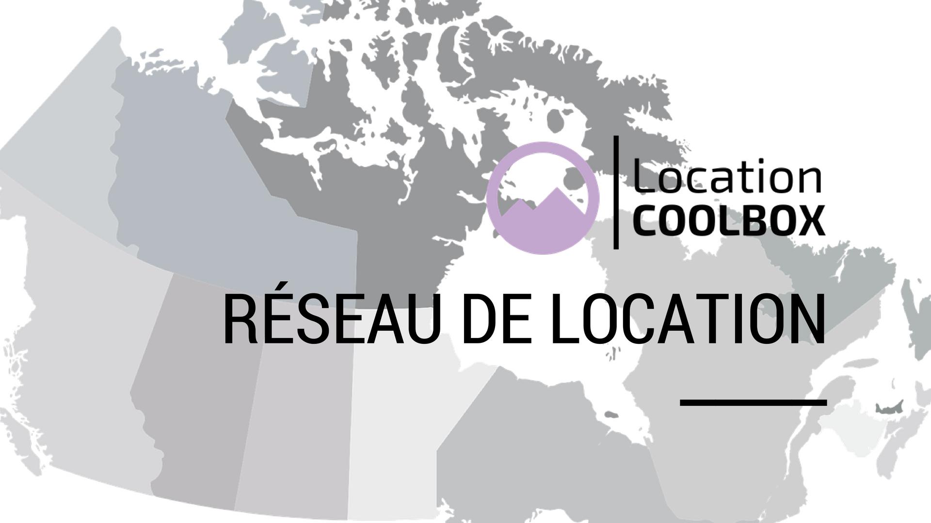Réseau de location Coolbox
